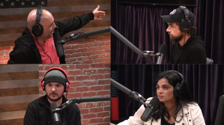 JRE with Twitter's CEO Jack Dorsey, Vijaya Gadde and Tim Pool